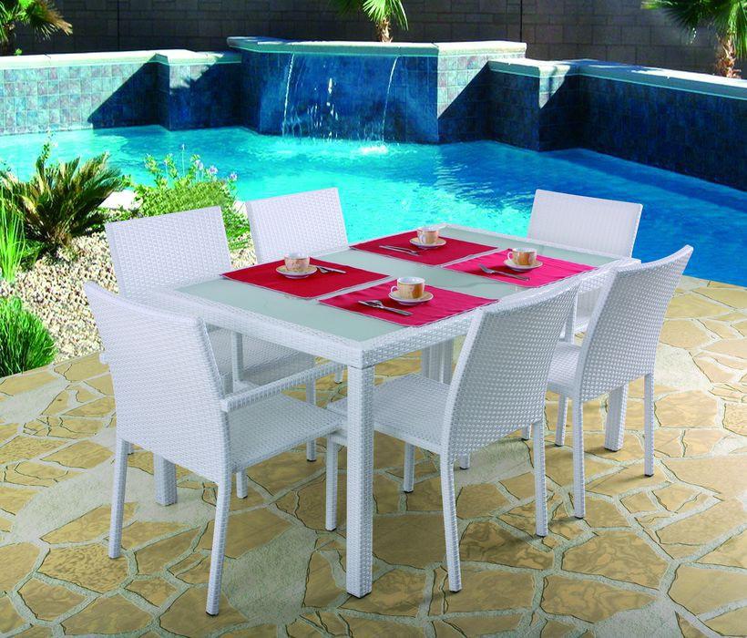Table et chaise de jardin pas cher - Chaise de jardin en resine pas cher ...