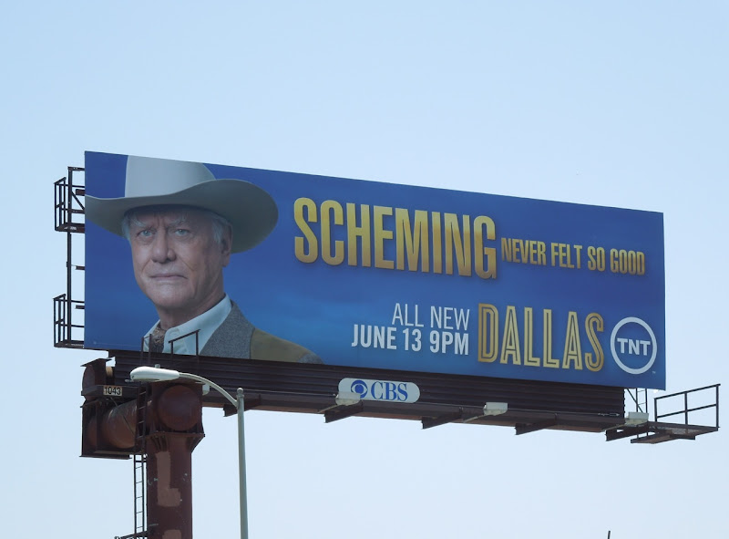 Dallas JR Scheming billboard