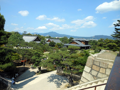 Honmaru Palace view - Nijo Castle in Kyoto, Japan