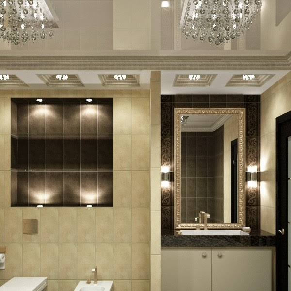 30 Cool Bathroom Ceiling Lights And Other Lighting Ideas