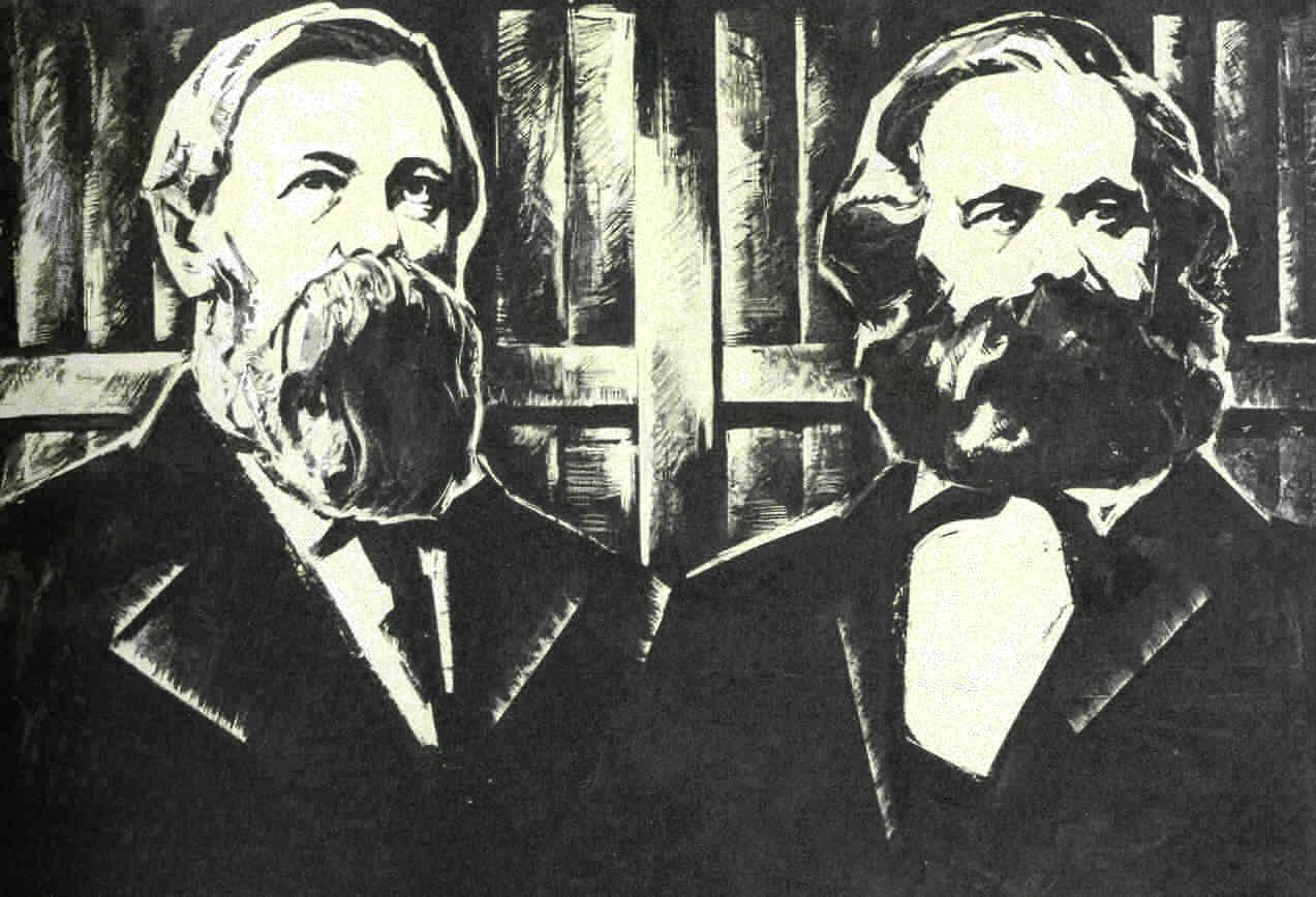 Recordando a Engels 193 años de su nacimiento Marx-eng5