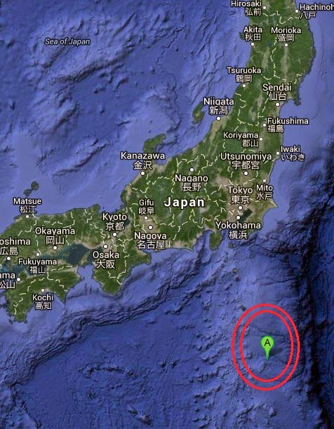 Magnitude 5.8 Earthquake of Hachijo-jima, Japan 2014-10-15