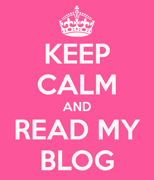 read my blog!!!