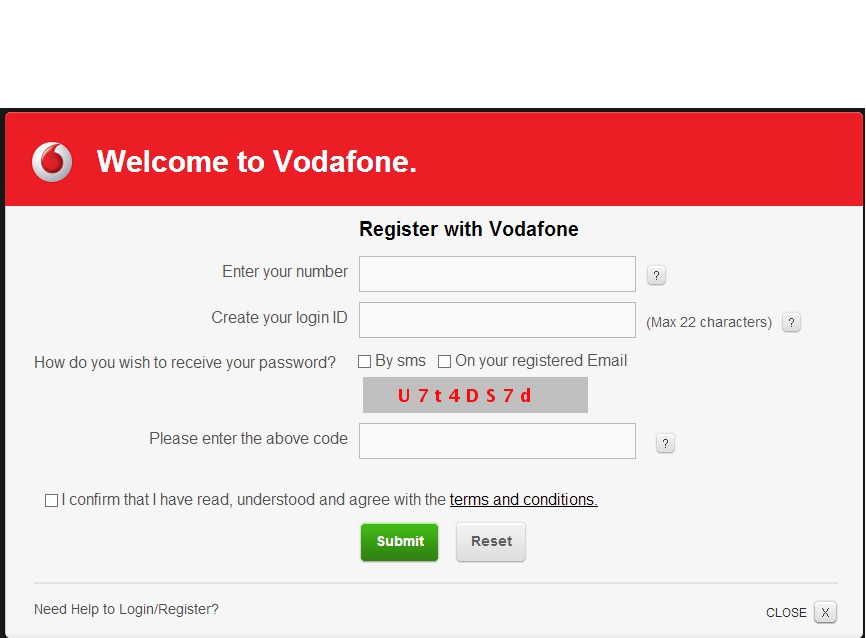 Plex guys vodafone online account my vodafone after set password and security actions thecheapjerseys Choice Image
