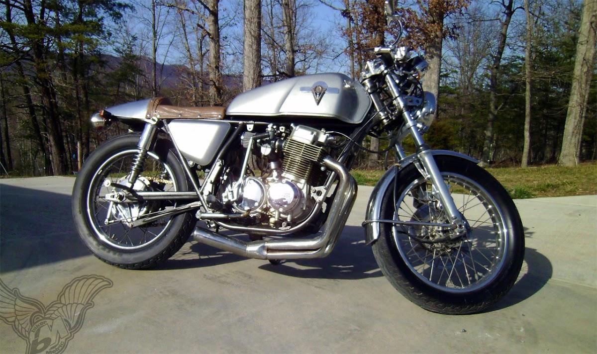 1976 honda cb750 super sport cafe racer | eric eller