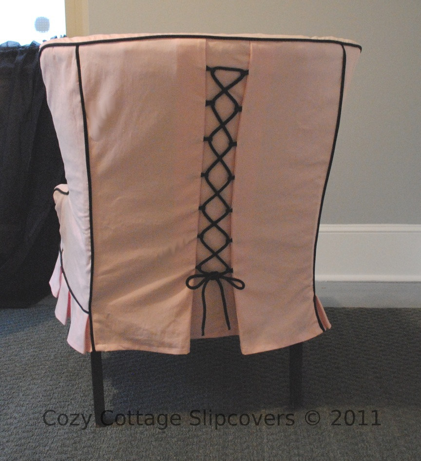 Cozy cottage slipcovers new office chair slipcovers - Paris Chic Slipcover