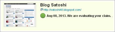 Satoshi48 Blog on Technorati