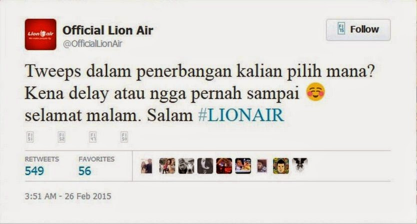 Lion Air Sindir AirAsia