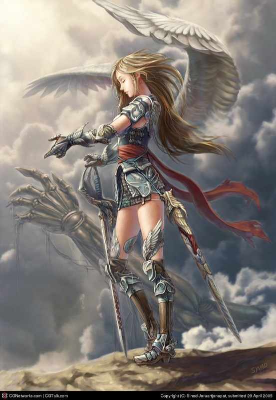 female angel warrior pictures - photo #3