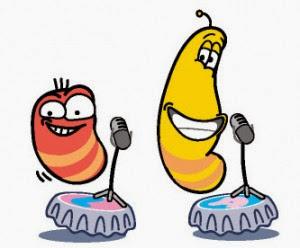 gambar dp bbm kartun larva rcti