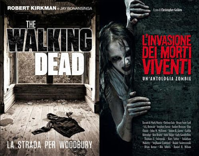 Le cover di The Walking Dead: la strada per Woodbury e 21st Century Dead - L&#39;invasione dei morti viventi