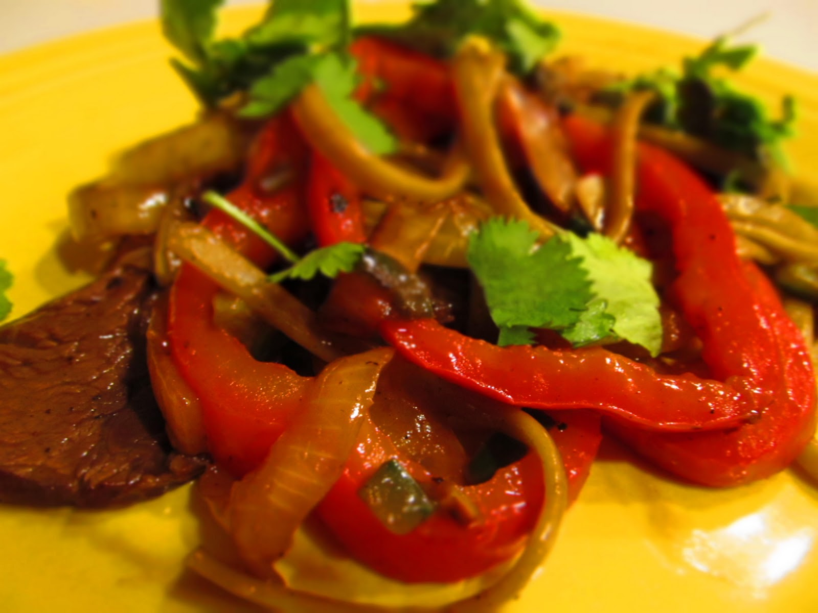 Beef With Peppers Recipe — Dishmaps