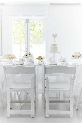 semplicemente perfetto wedding planner tea party bianco