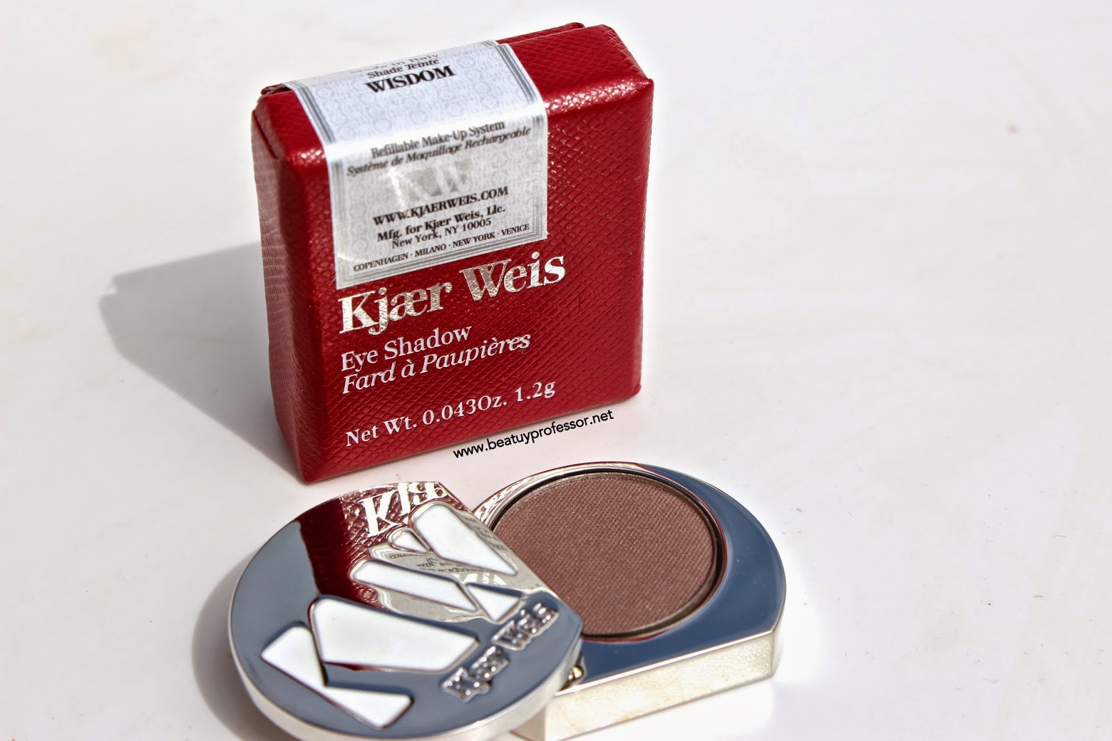 I Must Admit, I Was Beyond Shocked By The Uber Pigmented Blissfully Taupe  Wonder, Otherwise Known As The *Kjaer Weis Eyeshadow In Wisdom.