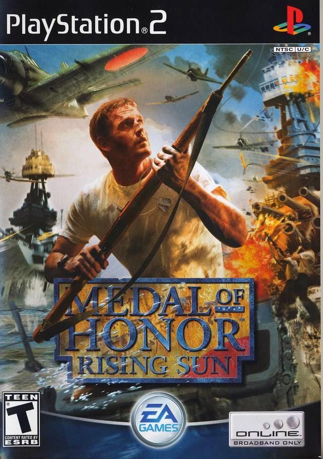 Medal of Honor: Rising Sun Ps2 Ntsc Iso www.juegosparaplaystation.com
