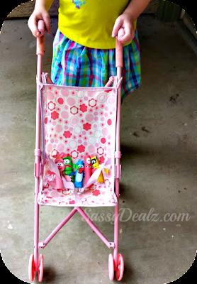 yo gabba gabba stroller craft puppets dolls