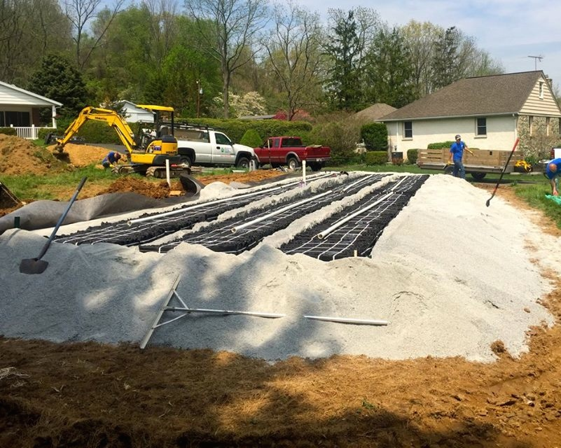 Expert Septic No Sand Mound Eljen Gsf Basic Install Pics