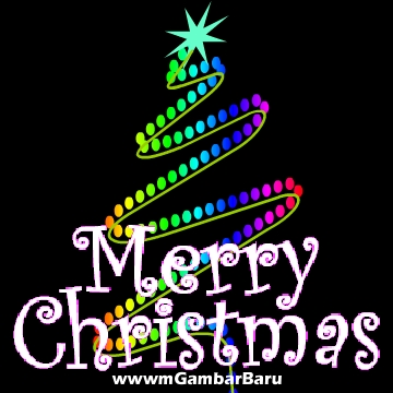 siluet christmas tree gambar foto display profile dp bbm