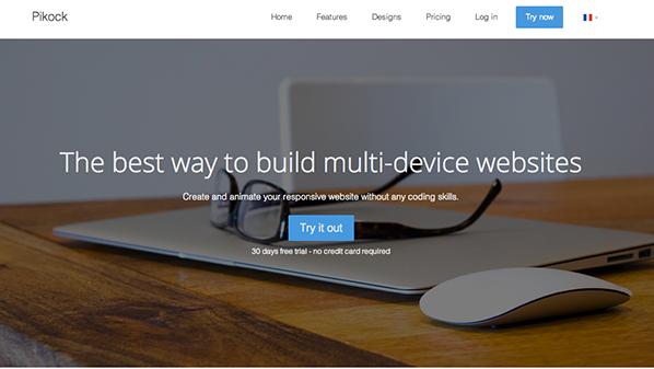 أداة تصميم مواقع متوافقة مع جميع الأجهزة بدون خبرة في البرمجة !