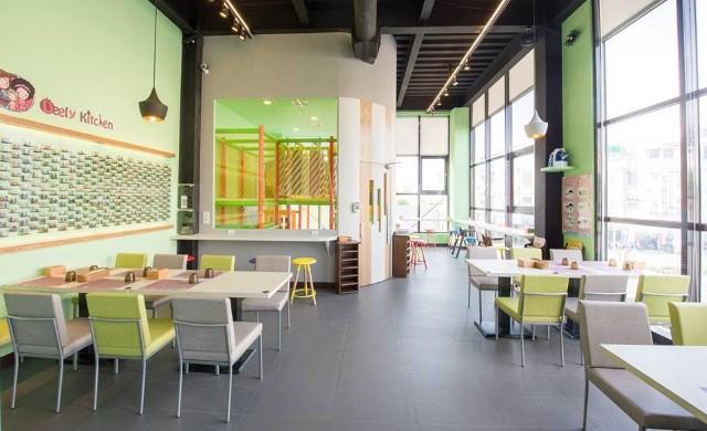 迪利樂廚 2F用餐環境