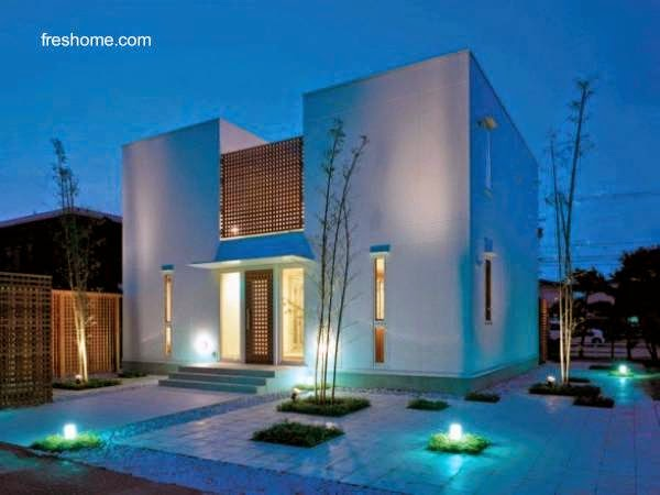 Arquitectura de casas la iluminaci n de las casas - Iluminacion de exterior ...
