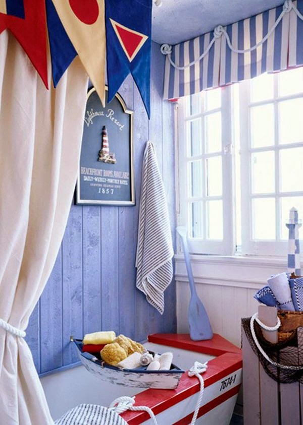 Bathroom themes sailor