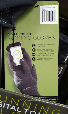 Use your smartphone even while wearing the Head Digital Touch Running Gloves
