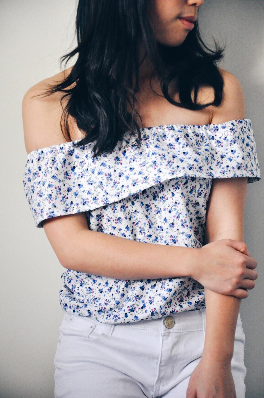 diy summer spring selfish sewing top blouse