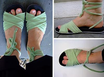 Como hacer sandalias de verano