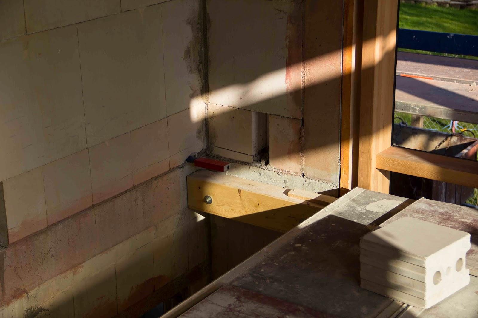 Flederhaus treppenhaus bereit f r gipser - Fenster fur treppenhaus ...