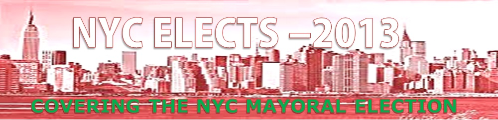 NYC Mayoral Race 2013