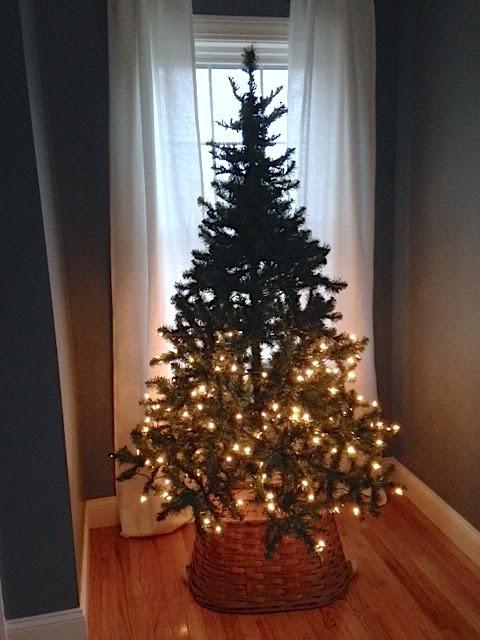 fixing pre-lit trees
