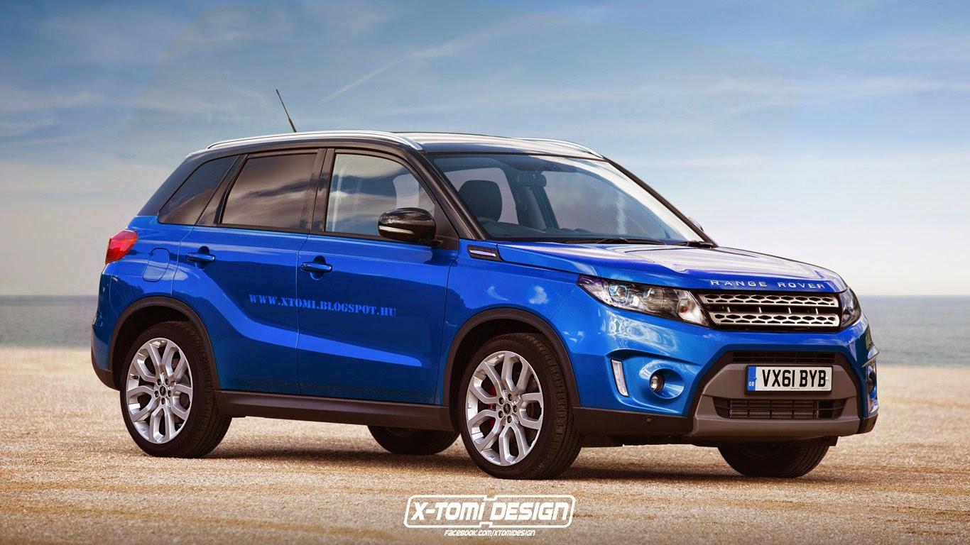 Range Rover Stormer Sokak Szerint Az Uj Suzuki Vitara