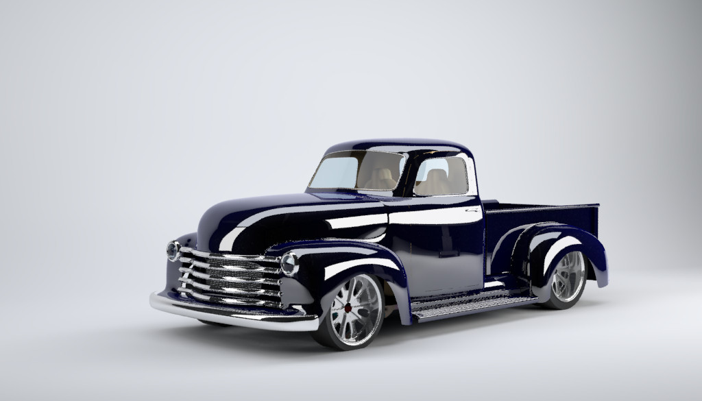 1952 Chevy Truck Cool Model Kit For Sale