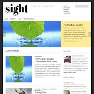 Sight Blogger Template