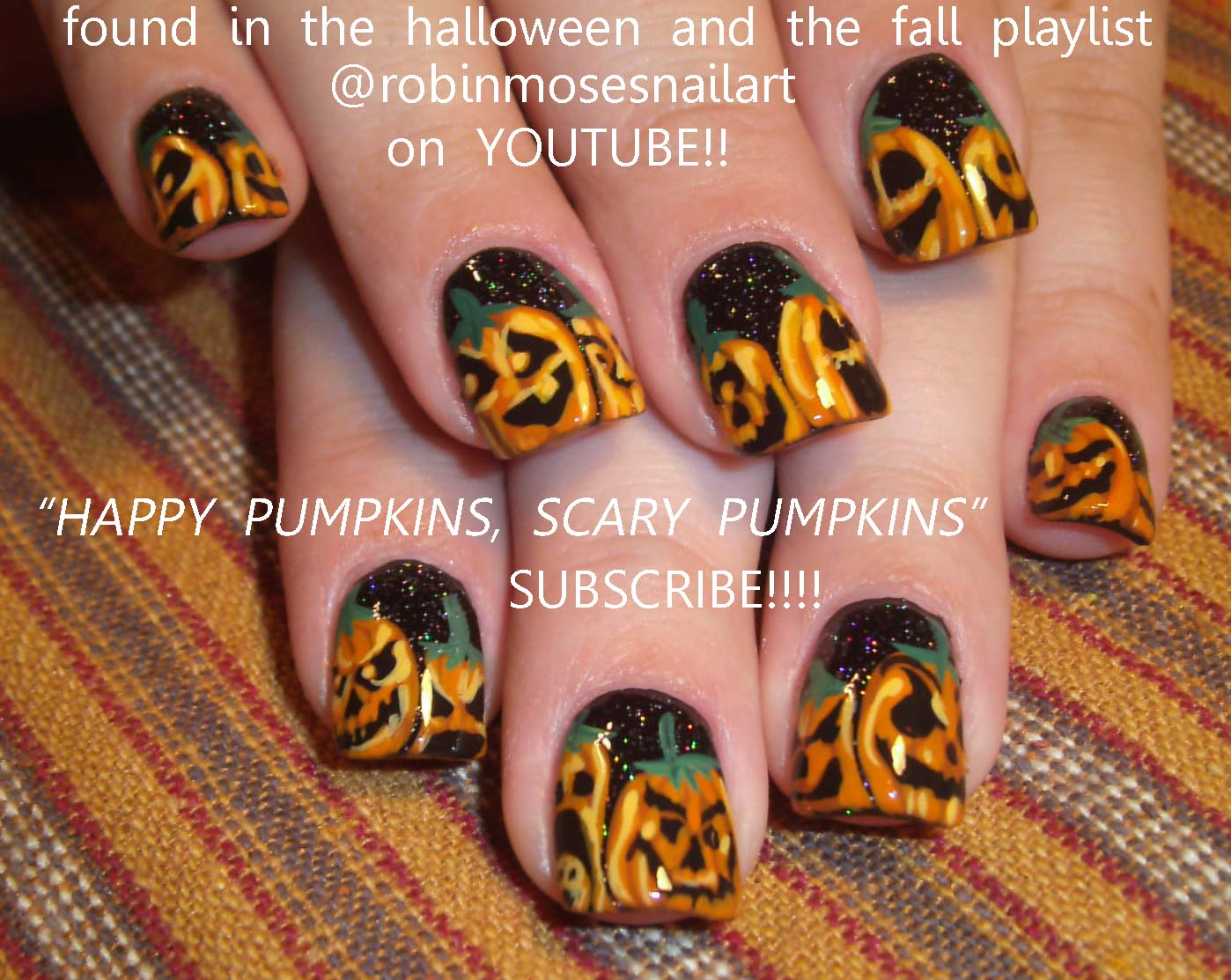 Nail Art Design: HALLOWEEN NAILS, googley eyes, googlie eyes ...