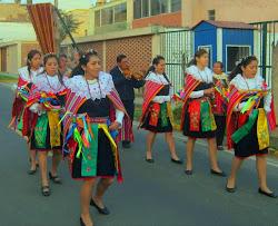 """""""Las Pallas de Huañec"""" danza mas antigua del Hanan Yauyos"""