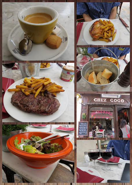 Lunch at Chez Coco in Aigues Mortes, France