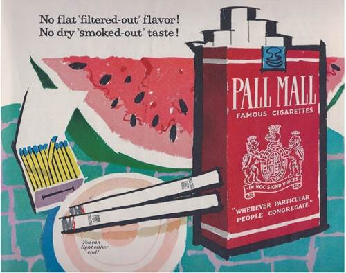 iklan rokok pall mall