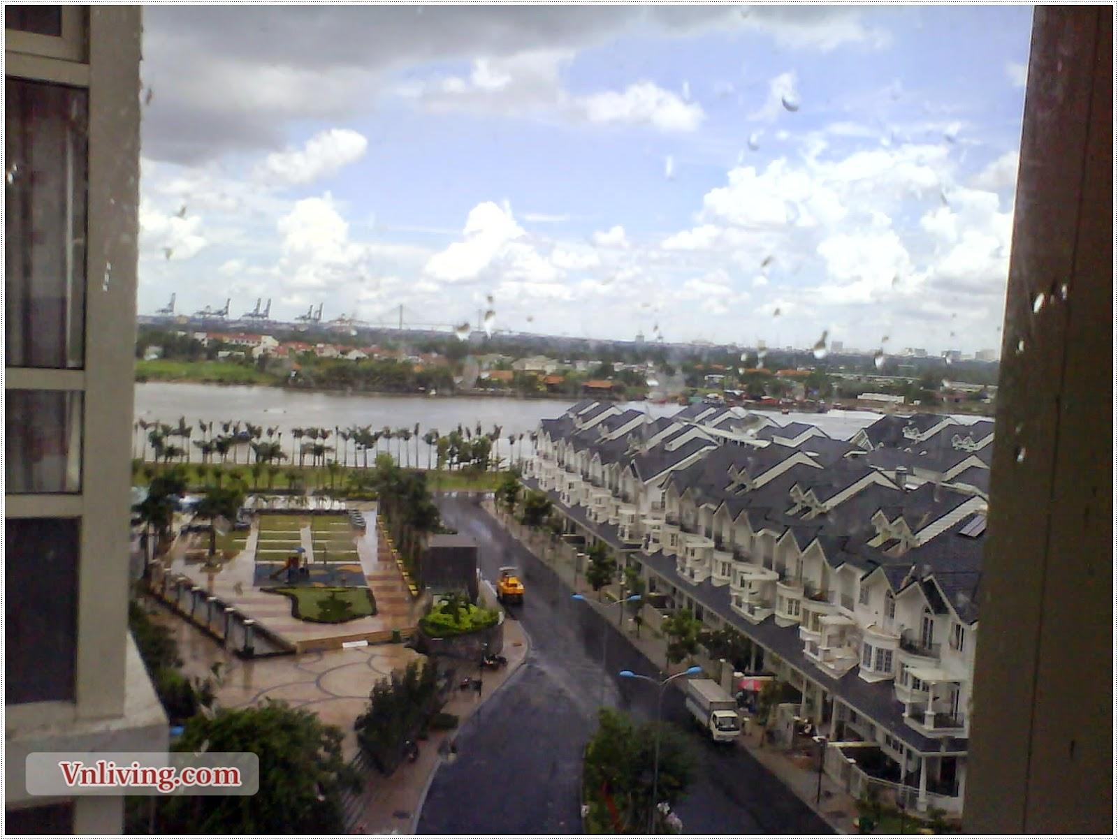 Saigon Pearl for rent condo at Binh Thanh Dist