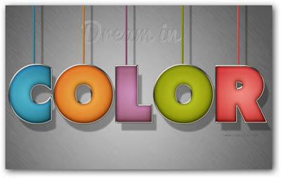 Colorful Stuffed Text Effect
