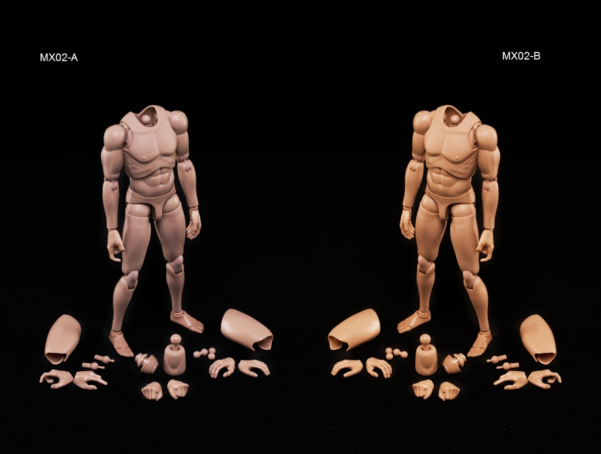 NEW 2014 Version Male Body Series with Highly Cost-Effective Edge 1//6 MX02-B