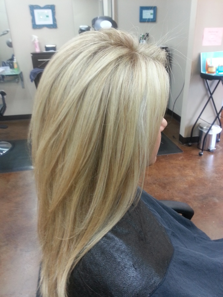 Стрижка для объема волос средней длины