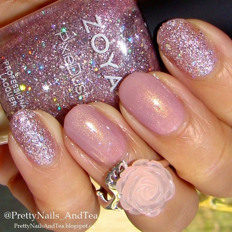 Pretty Nails and Tea: LUX - Zoya\'s Magical Pixie Dust 1