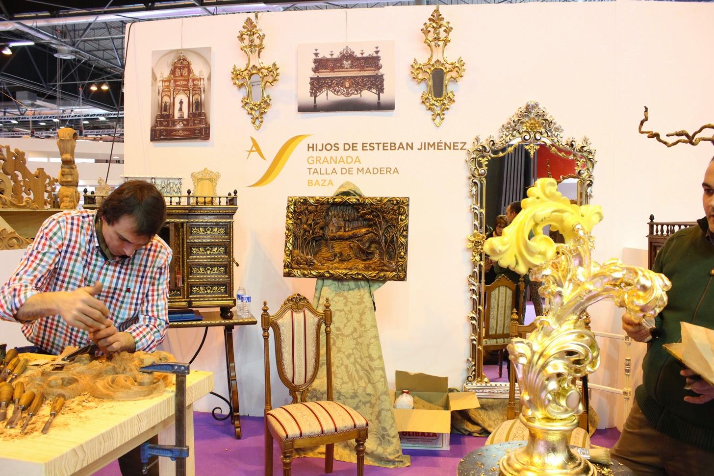 Rural contempor nea artesan a espa ola en fitur 2015 for Muebles jimenez baza