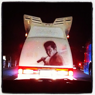 Yakuza movie star deco-truck