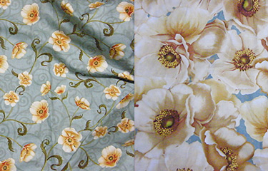 Floral Fabric for Apron