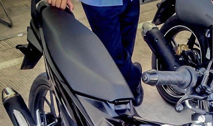 Yap,inilah dia sosok nyata dari Suzuki Satria F150 Injeksi . . . Honda harus waspada nih !