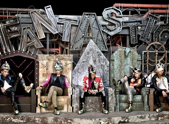 Big Bang Fantastic Baby mv