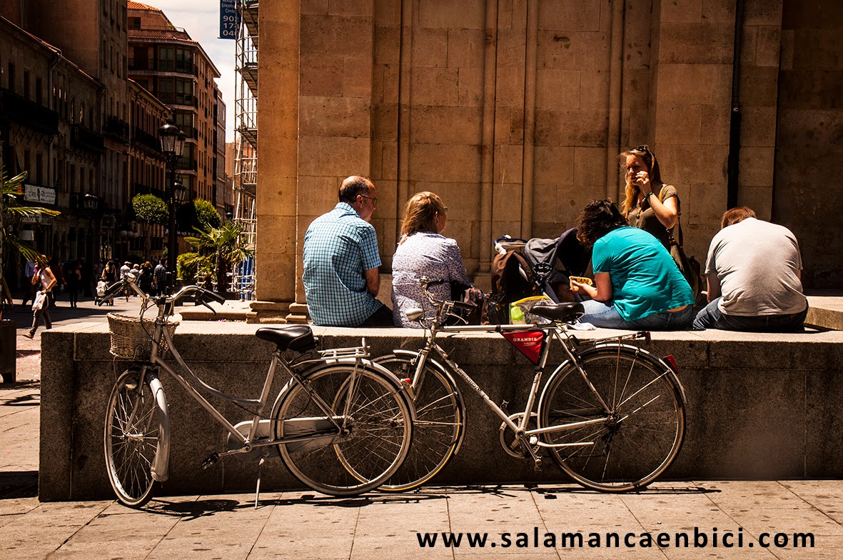 carril bici salamanca, movilidad sostenible